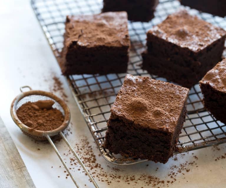 Decadent Dark Chocolate Brownies