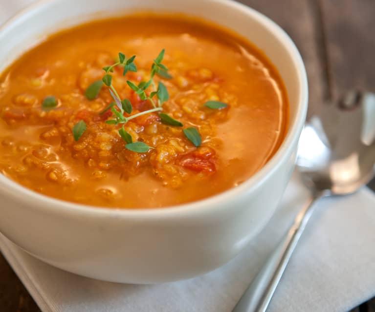 Zupa Z Czerwona Soczewica