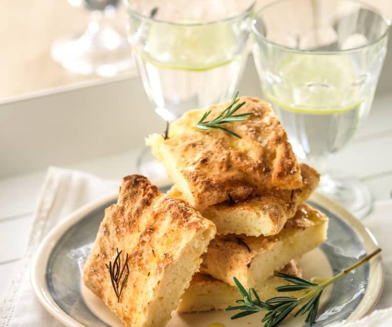 Glutenvrij Focacciabrood