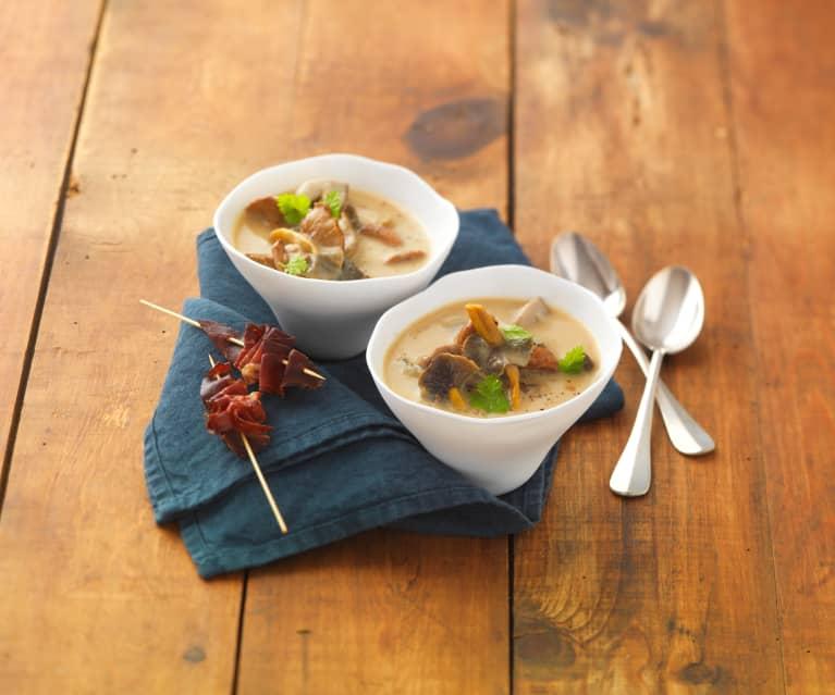 Soupe aux champignons des bois - Cookidoo® - la plateforme ...