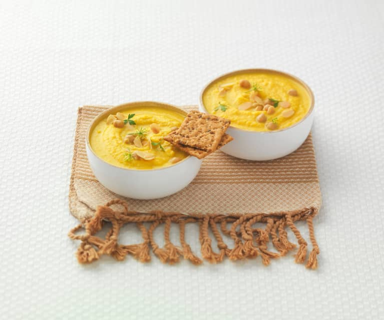 Soupe épicée aux légumes d'hiver